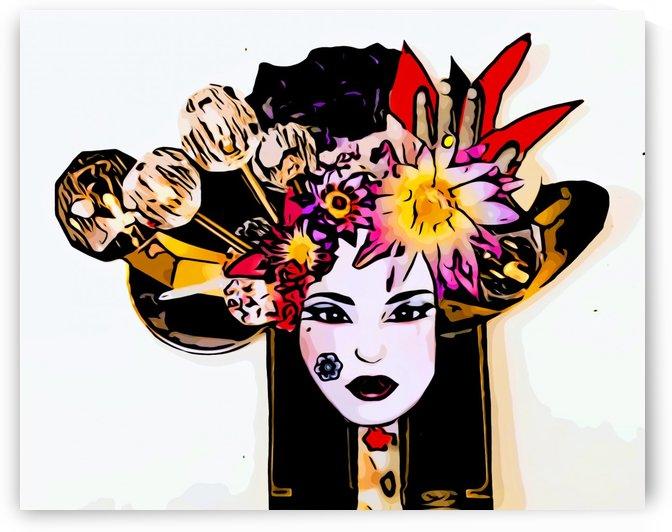Geisha girl by Bratty ART