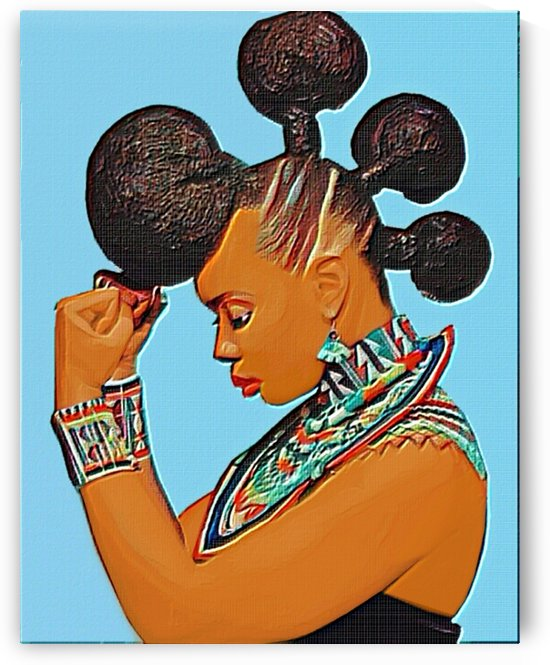 African queen by Olufolahan  Akintola