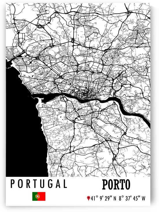 Porto PORTUGAL by Artistic Paradigms