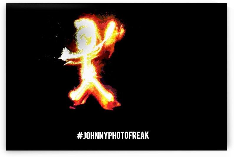 Fire Stickman by Johnnyphotofreak