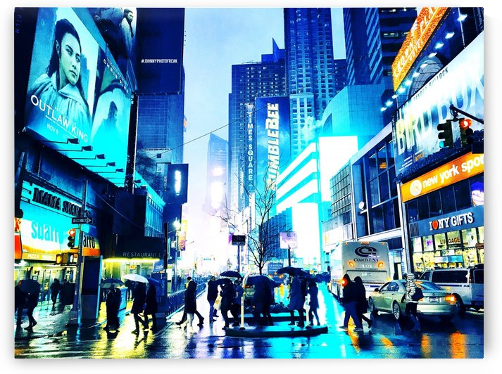 Time square New-York  by Johnnyphotofreak