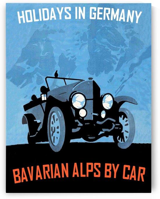 Bavarian Alps by Car by vintagesupreme