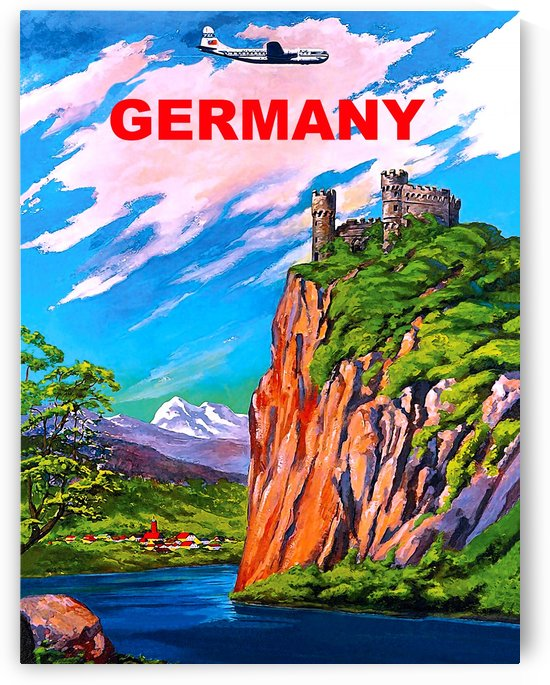 Castles in Germany by vintagesupreme