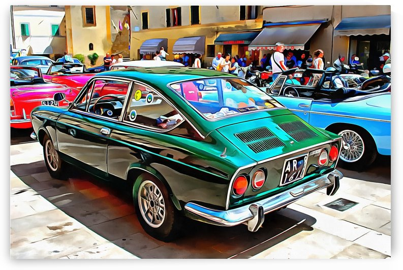 Fiat 850 Sport Coupe by Dorothy Berry-Lound