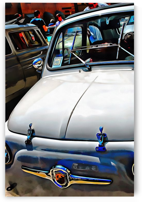 Fiat Abarth White version by Dorothy Berry-Lound