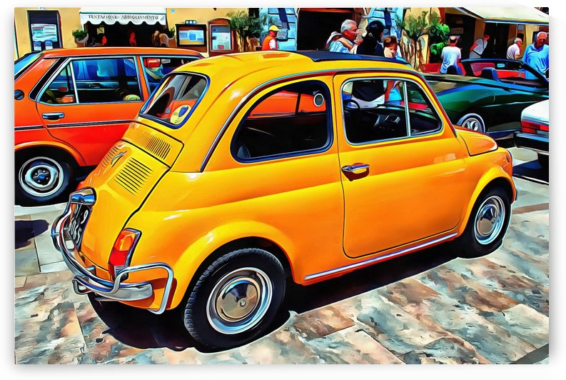 Fiat 500L Orange Version by Dorothy Berry-Lound