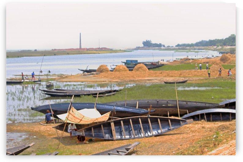 River Bank of Titash by Sabrina Seheri