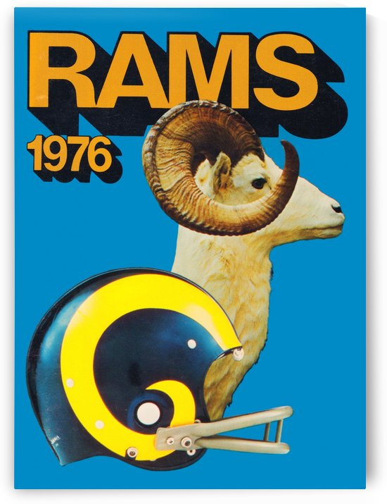 1976 Rams by Row One Brand