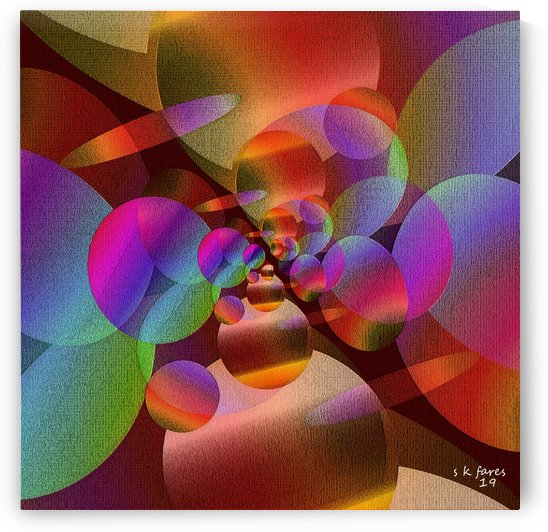art abstra10 by khalid selmane fares