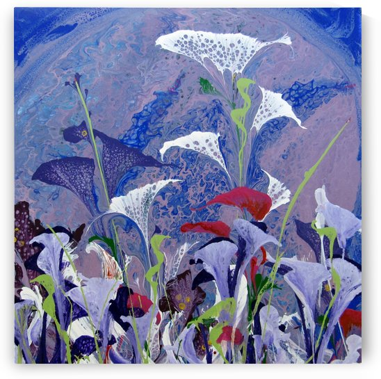 Moonflowers by Cheryl Ehlers