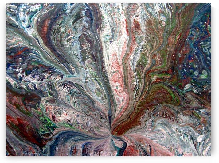 Peacock Blossum by Cheryl Ehlers