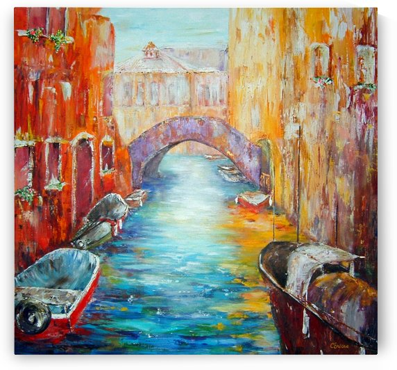 Old Venice by Cheryl Ehlers