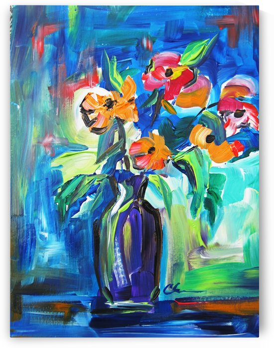 August Spent Flowers by Cheryl Ehlers