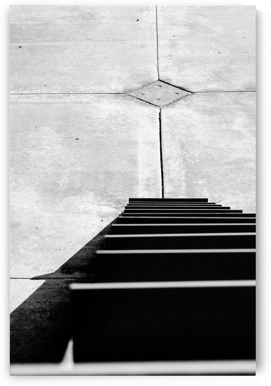 Metal Concrete Abstract by David Pinter