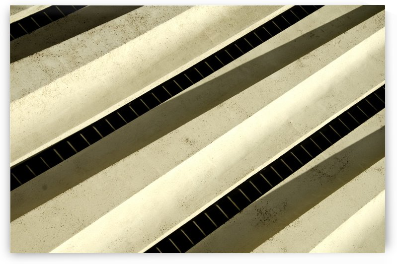 Floating Shadow Abstract by David Pinter