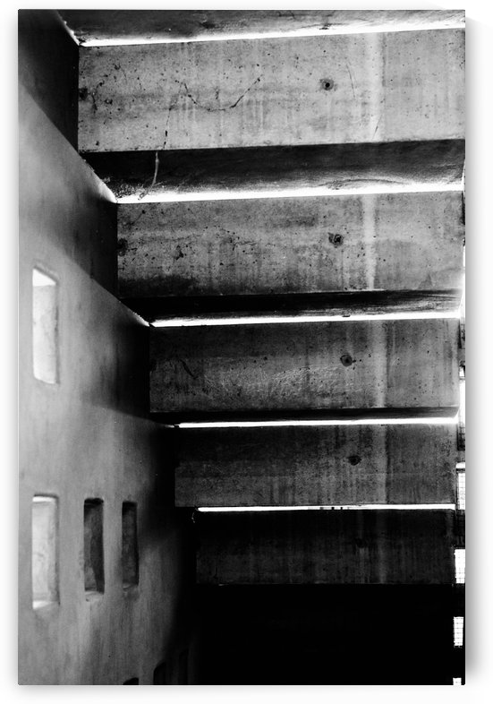 Concrete Stairs and Metal by David Pinter