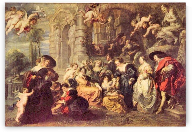 Love Garden by Rubens by Rubens