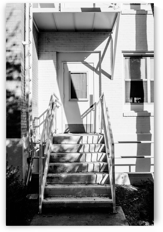 Stairs and White Door by David Pinter