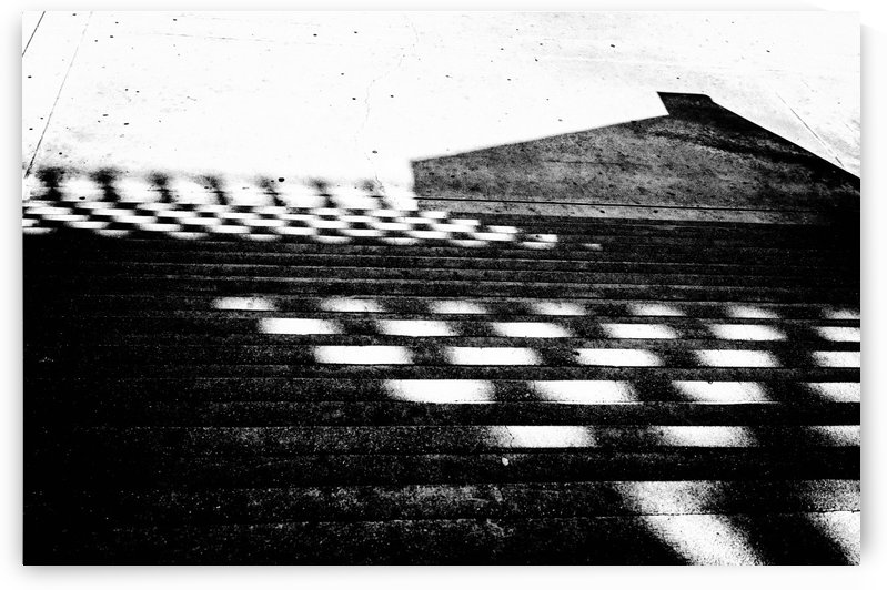 Checkered Light and Shadow by David Pinter