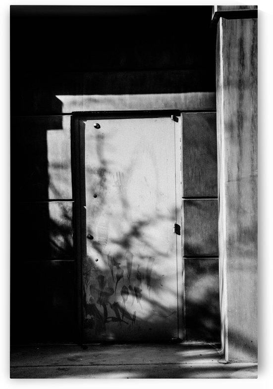Strong Metal Door by David Pinter