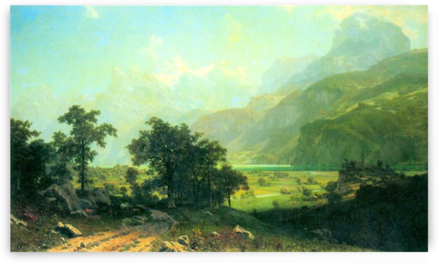 Lucerne Switzerland by Bierstadt by Bierstadt