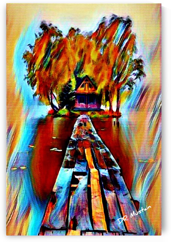 DR Mustain: Seclusion -Abstract Surrealism HD 300ppi by Famous Paintings