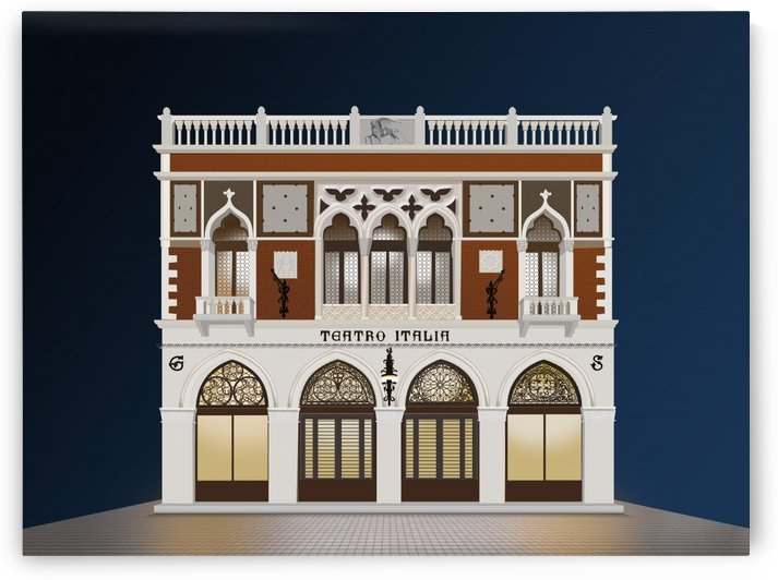 Teatro Italia - Venice by Raul Santos