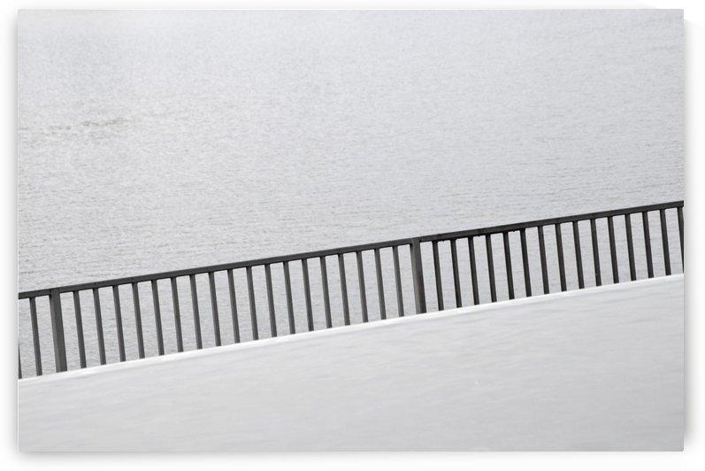 Fence Walkway Illusion by David Pinter