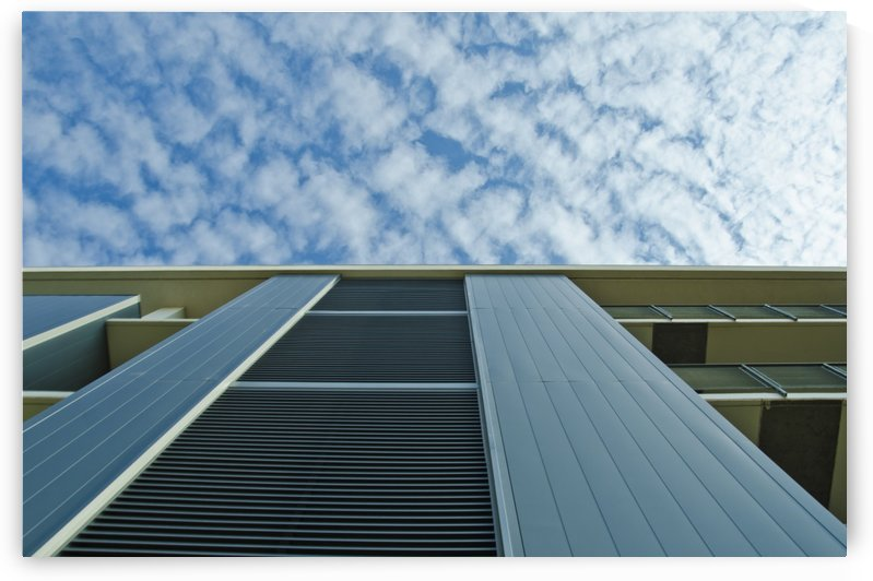 Perspective Architecture and Sky by David Pinter