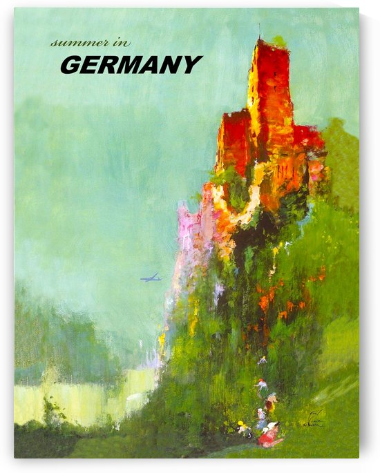 Summer in Germany by vintagesupreme