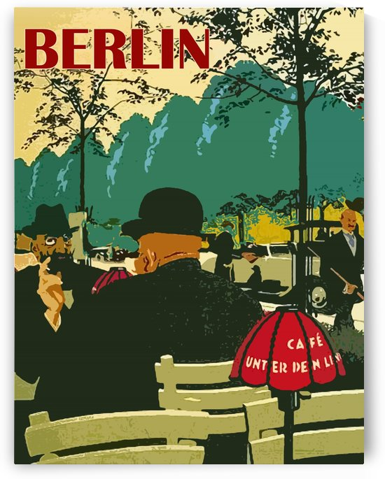 Cafe in Berlin by vintagesupreme