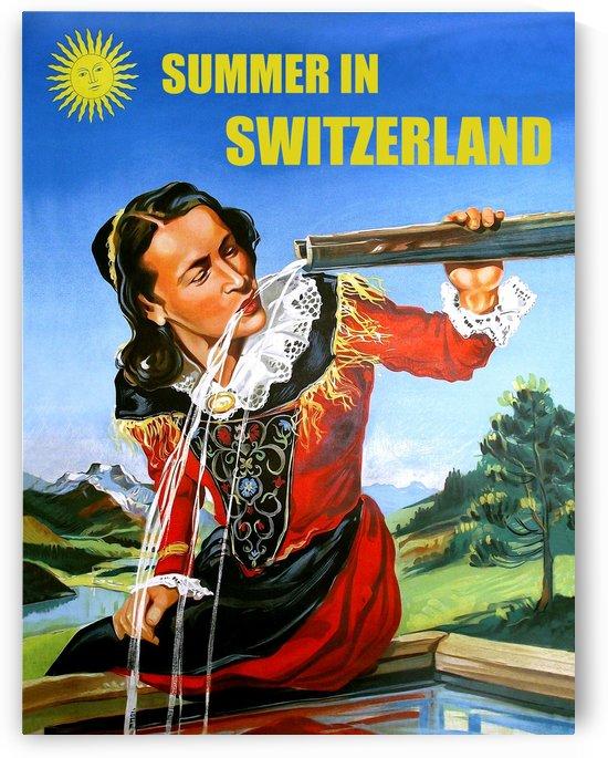 Summer in Switzerland by vintagesupreme