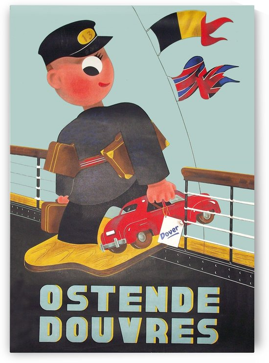Ostend to Dover by vintagesupreme