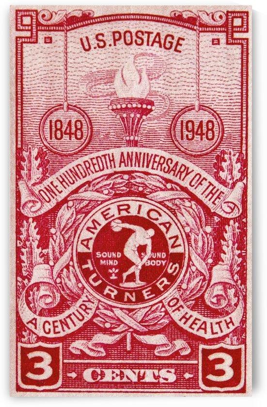 Stamp USA by David Pinter