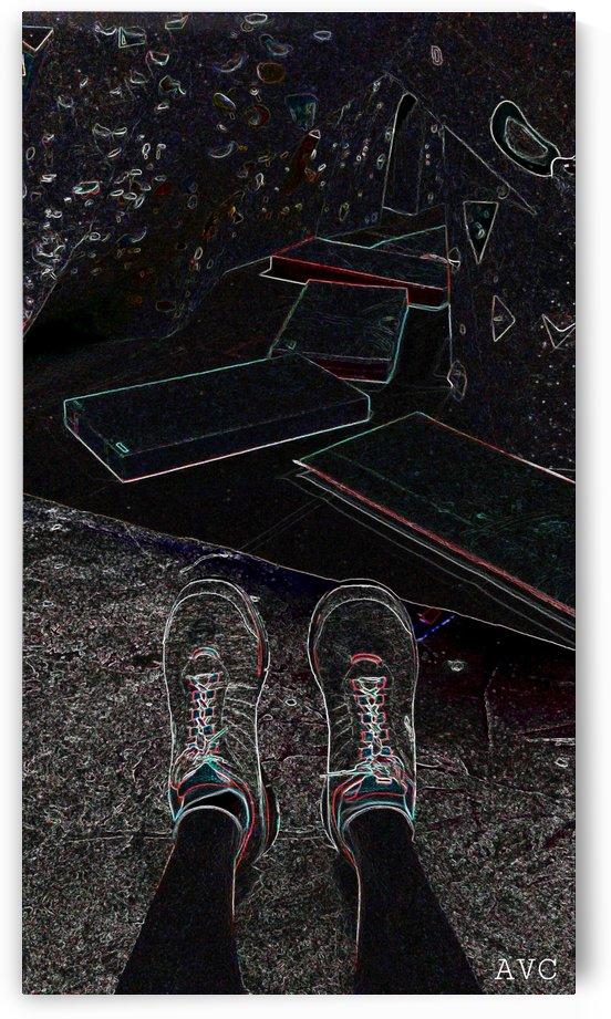 Rock Climbing Feets by Angelina V Coronado
