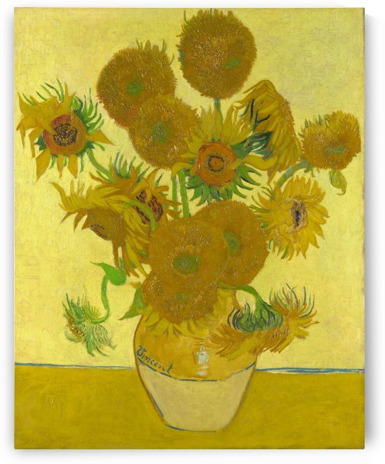 Vincent van Gogh: Sunflowers HD 300ppi by Stock Photography