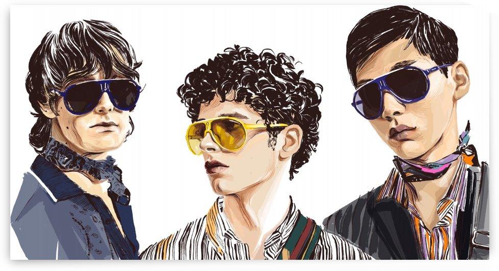 trio by Evgeniya Abramova