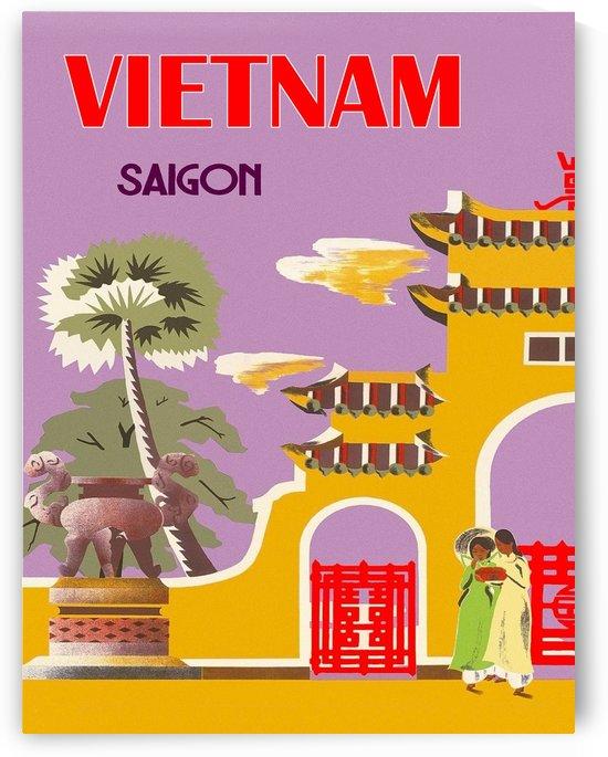 Vietnam Saigon City by vintagesupreme