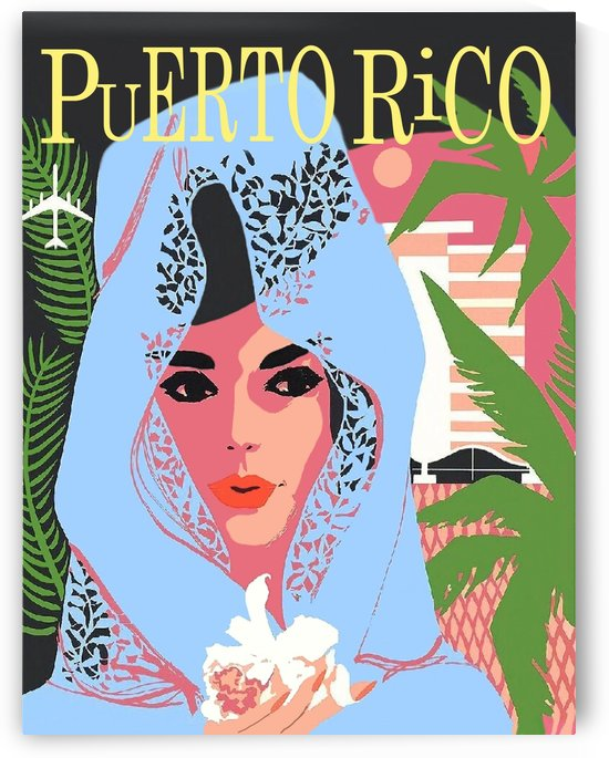 Woman from Puerto Rico by vintagesupreme