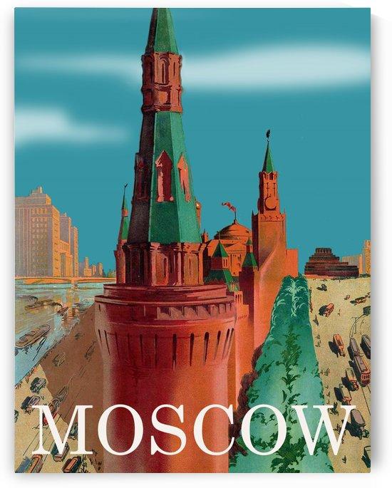 Moscow Kremlin by vintagesupreme