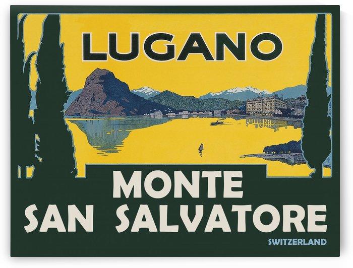 Monte San Salvatore Lugano by vintagesupreme