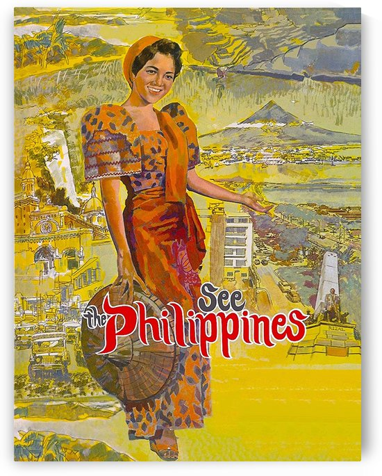 Woman from Philippines by vintagesupreme