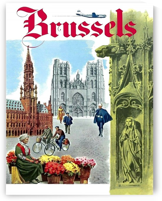 Fly to Brussels by vintagesupreme