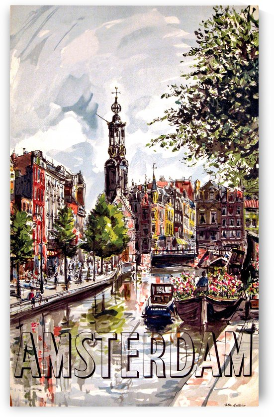 Amsterdam City by vintagesupreme