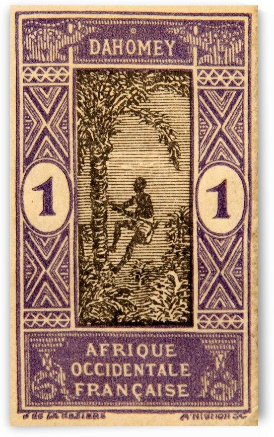 Dahomey 1 Stamp by David Pinter