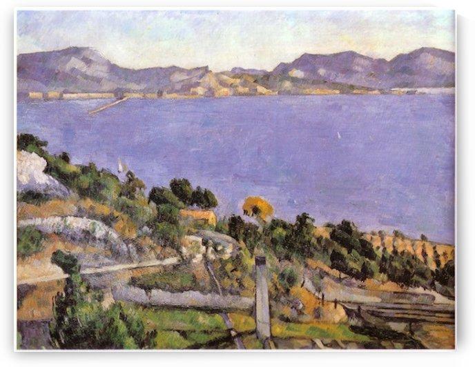 L_Estaque_vue_du_golfe_de_Marseille_1878 by Cezanne by Cezanne