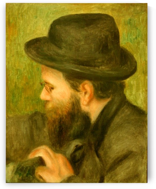M Bernard man with the black hat by