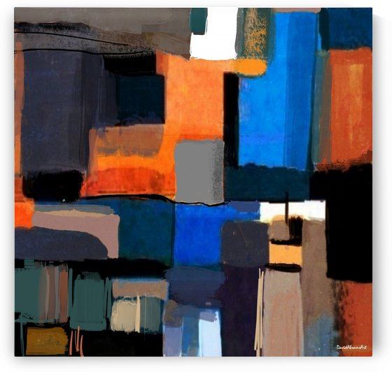 Thursday Composition II by David Abrams Art