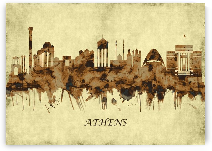 Athens Greece Cityscape by Towseef Dar
