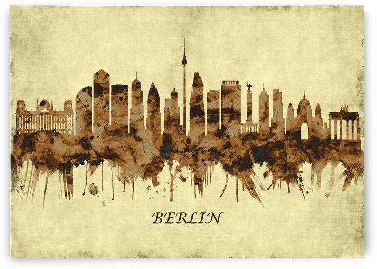 Berlin Germany Cityscape by Towseef